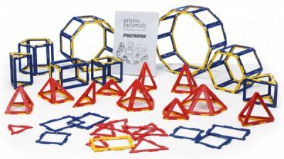 """Набор по основам математики, конструирования и моделирования  Полидрон Каркасы """"Призмы и пирамиды"""""""