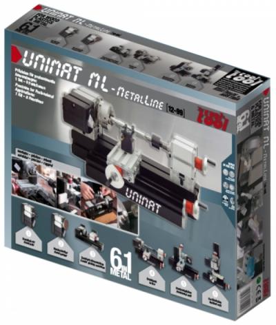 Конструктор модульных станков UNIMAT ML. Базовый набор.