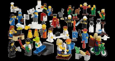 Работники муниципальных служб LEGO