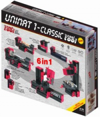 Конструктор модульных станков UNIMAT 1 Classic (6в1). Базовый набор.