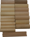 Заготовка цилиндрическая, различного диаметра (липа, бук), 20шт.