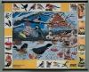"""Магнитный плакат """"Птицы зимой""""."""