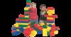 Набор мягких кубиков LEGO.