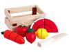 """Набор  """"Режем на части: фрукты и овощи"""" (дерево)"""